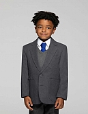 Aaaa211080-Ziggys Boys Zip Entry Blazer